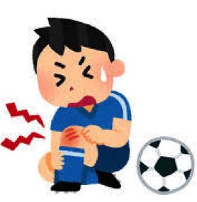 オスグッド_サッカー少年